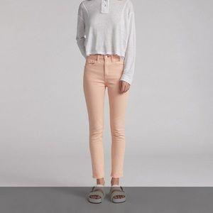 Rag And Bone High Rise Skinny Jeans